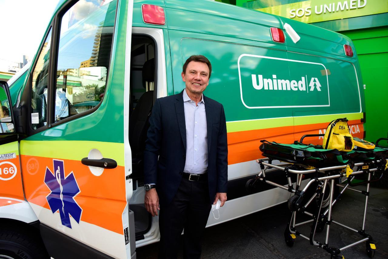 SOS Unimed Goiânia recebe duas novas ambulâncias